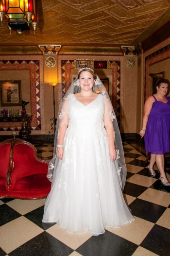 On my wedding day! May 2014