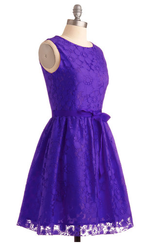 Looking Like A Million dress in violet, Modcloth