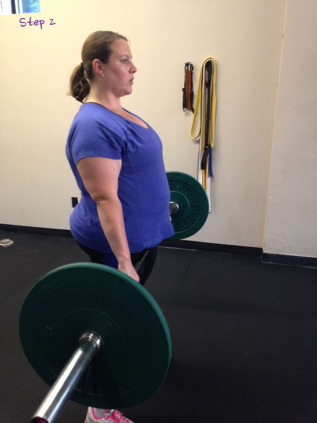 And then lift! I did several reps following this.