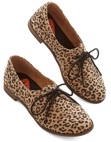 Readily Reliable Flats in Leopard, $47