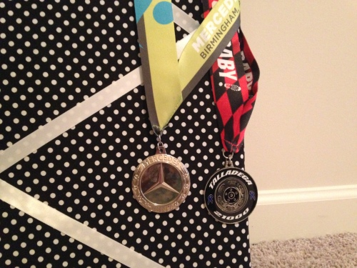 Two half marathon medals ... so far!