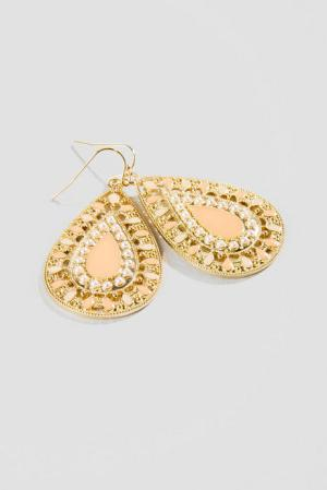Francesca's Jakarta Teardrop Earrings, $16